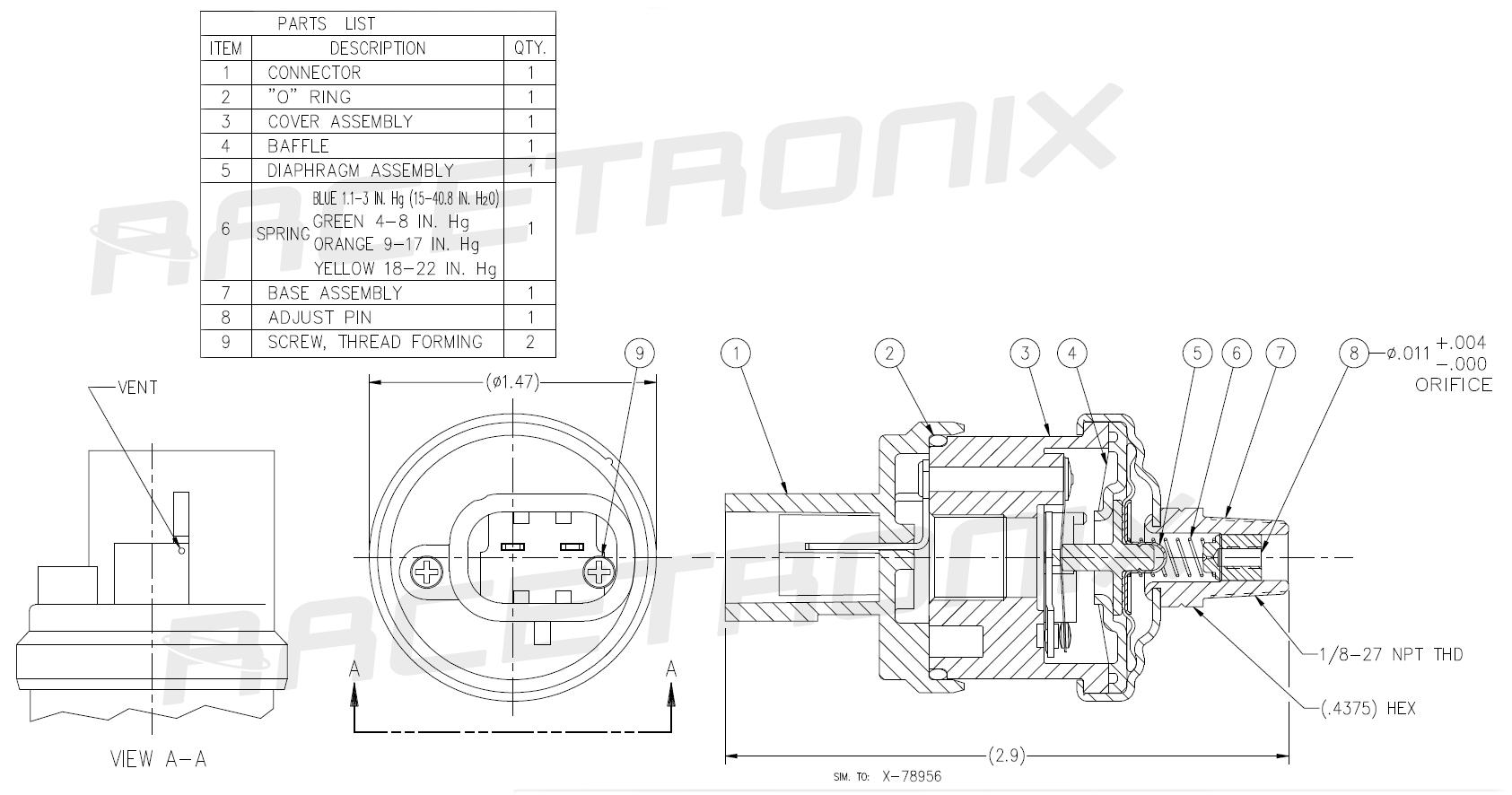 Fl98 Tpi Fuel Pump Assembly Rxp255 And Fuel Pump