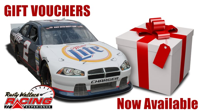 Rusty Wallace Racing Experience Gift Vouchers available for 2015