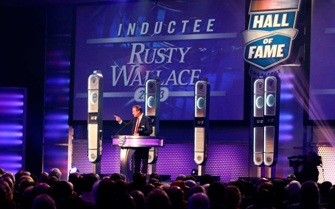 Hall of Fame Weekend with Rusty Wallace October 29th & 30th.