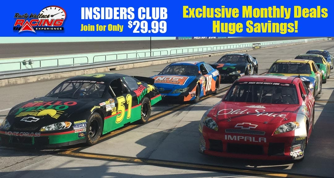 Insiders Club – Save 70% OFF Driving Experiences!