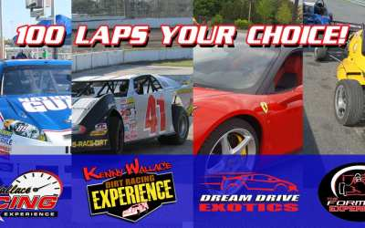 This Weekend Only – 100 Lap Deal!