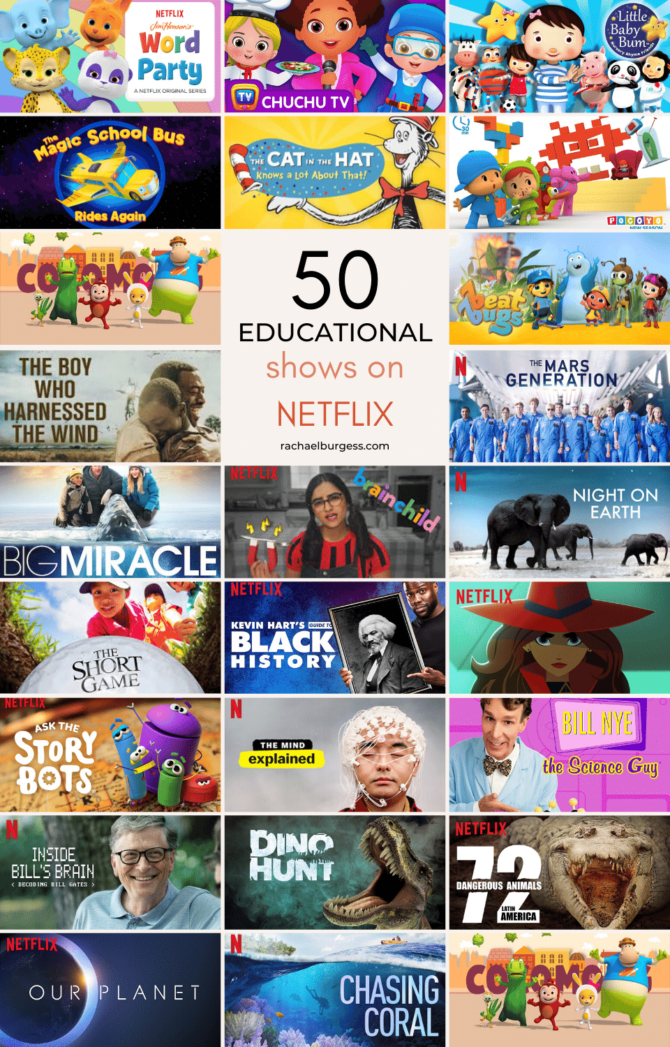 50 Educational Shows On Netflix For Kids Surviving Covid 19 Isolation We recommend the titles worth watching. 50 educational shows on netflix for