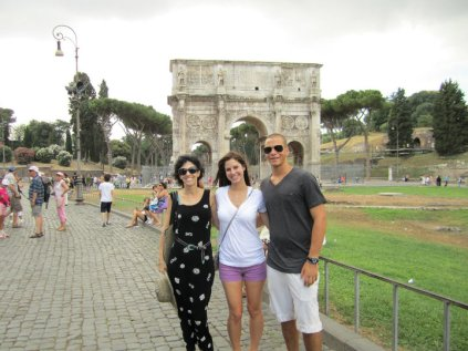 Genson family in Rome