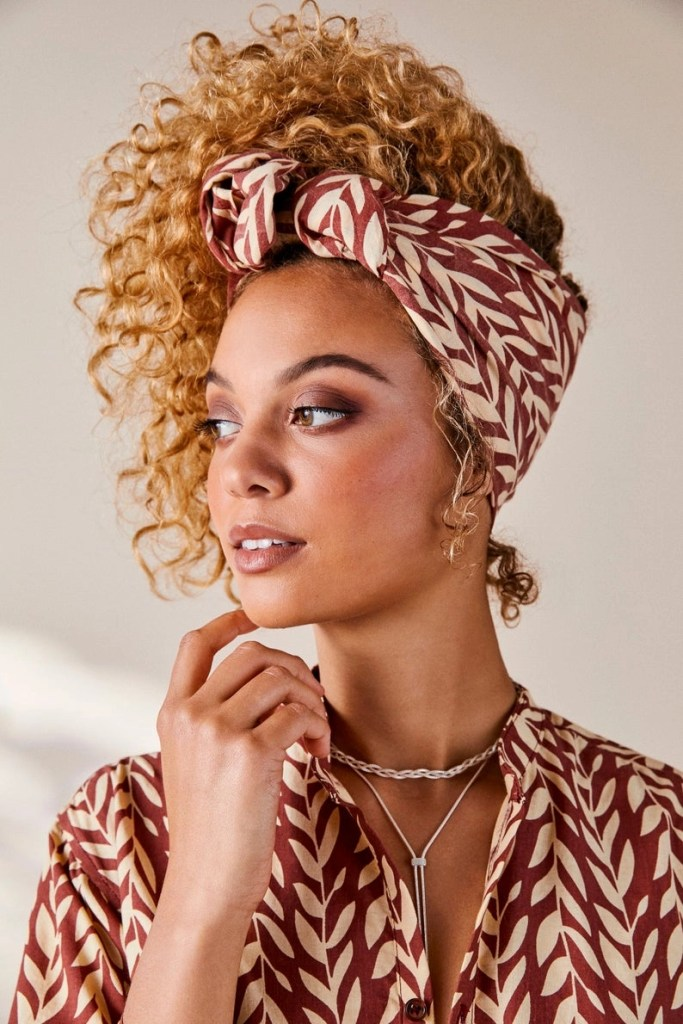 House Of Harlow 1960 Head Scarf