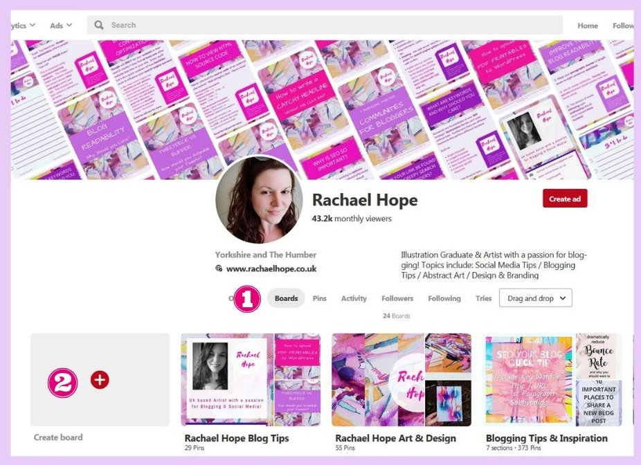 How to Create a Pinterest Board for YOUR Content