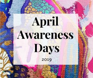 April Awareness Days 2019