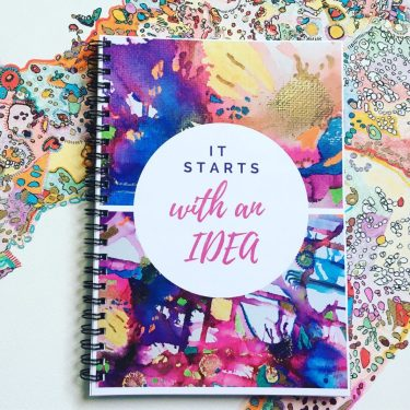 A quirky notebook perfect for Bloggers, Bullet Journal Enthusiasts & Students. Whether you are working on a new project or refining your bullet journal; this will truly get the creative juices flowing! #Notebook #BulletJournal #UniqueGifts #CuteNotebook #BloggingGifts