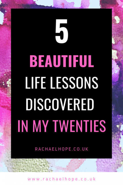 I turned twenty eight recently. I have been pondering the lessons life has thrown my way. I can't help but feel that there may be a nugget of wisdom in there for someone outside of myself. So, here we go. Deep breath. 5 Beautiful Lessons I Discovered in my Twenties. #SelfDevelopment #PersonalGrowth