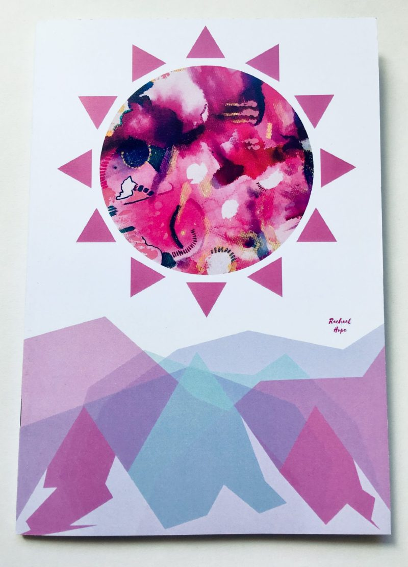 Are you a Blogger or Writer with a new project?  A Student that needs to take study notes? Or a Stationery Addict looking for their next notebook fix?  Treat yoself to a new Rachael Hope abstract art notebook!