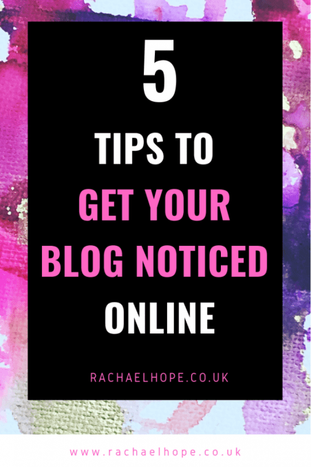 In the digital realm, blogging is a choice that is becoming more popular.  Blogging is a job which is flexible, fun, personal and can be lucrative. If you want to create a blog and get yours noticed online this year, here are 5 tips and tricks to help!