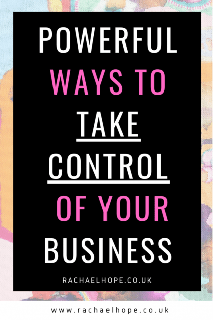 As a business owner, it is your job to ensure your company runs smoothly and is successful. Here are some powerful ways to take control of your business. #businesstips #businessgrowth #businessowner