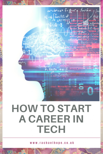Now more than ever, we need tech experts to help us overcome global challenges. So here's how to start a career in tech! #personaldevelopment #careerchange #techcareer