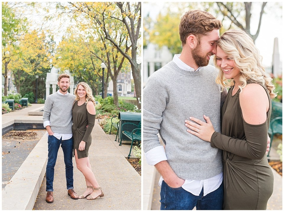 Engagement Photos in Downtown Dayton Ohio