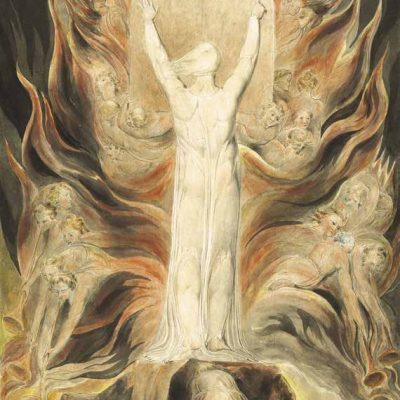 William Blake, 1757–1827 God Writing upon the Tables of the Covenant