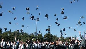 GraduationThrowHats