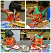 Kids in Home Depot Workshop