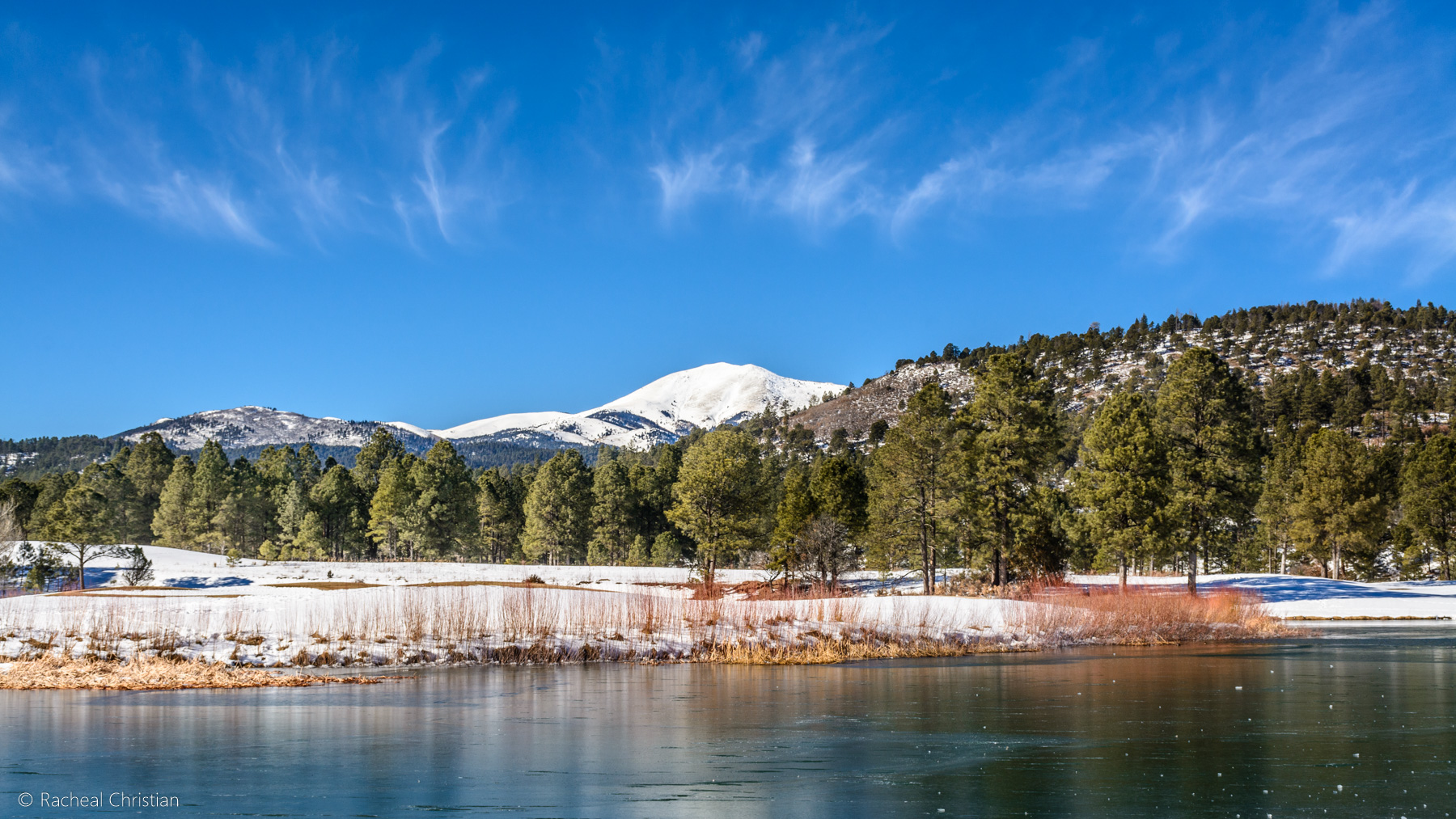 My First Photo Of The Week: Winter In Ruidoso