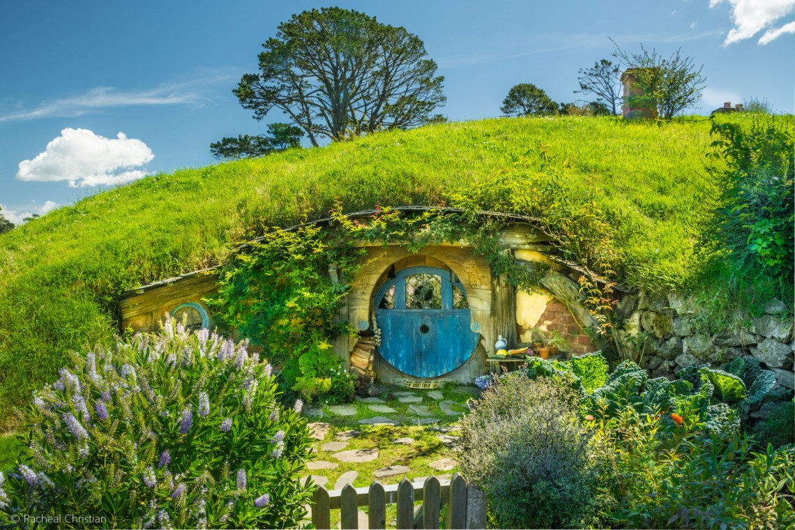 Blue Door Hobbiton - Hobbiton by Racheal Christian -