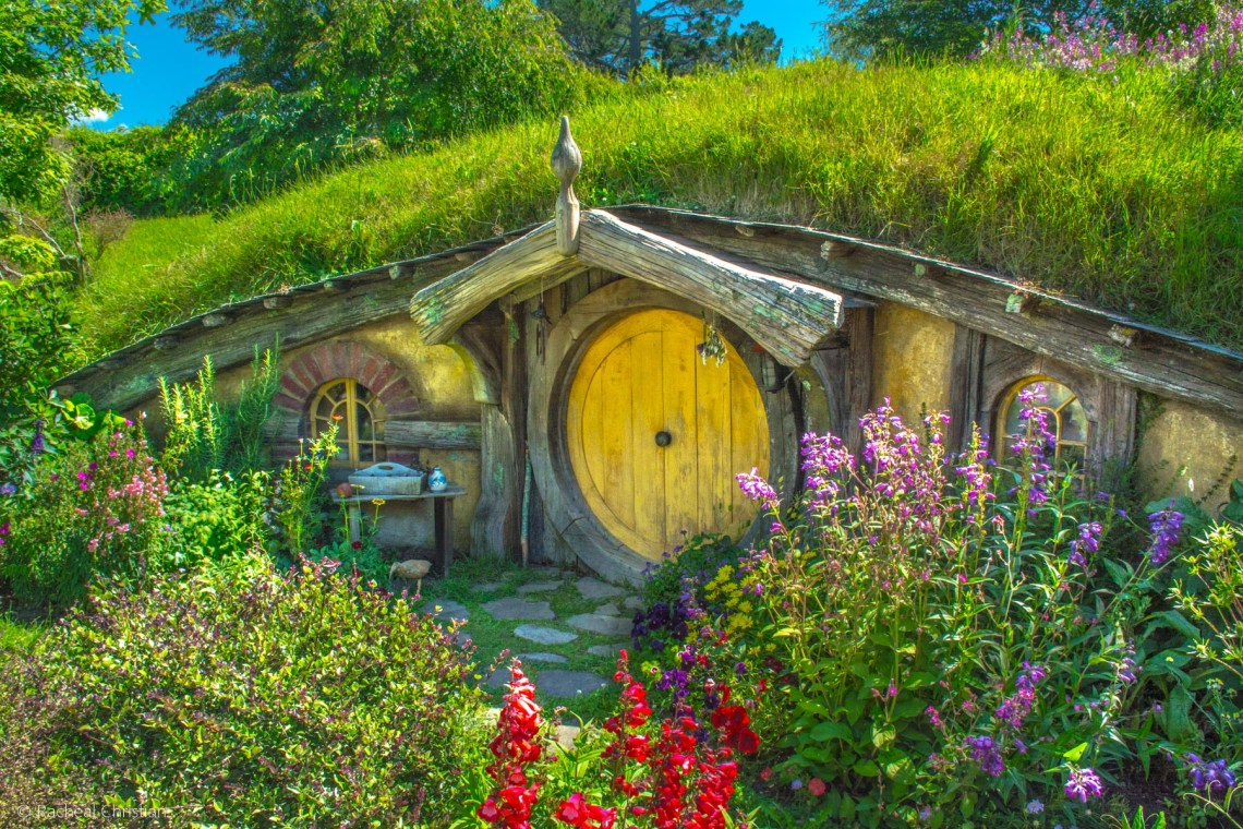 Flowers In The Shire - Hobbiton by Racheal Christian -
