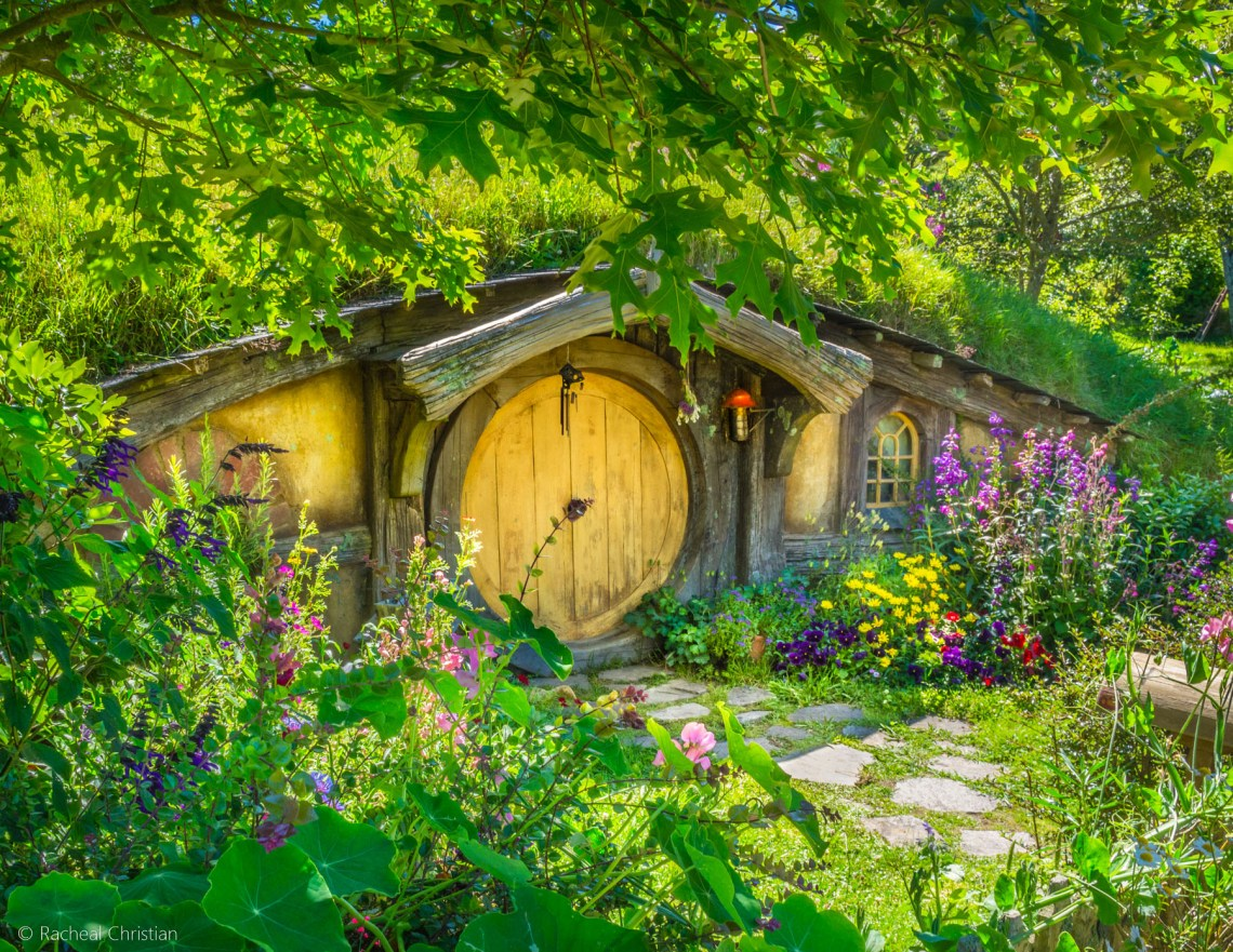 Hobbit Cottage - Hobbiton by Racheal Christian -
