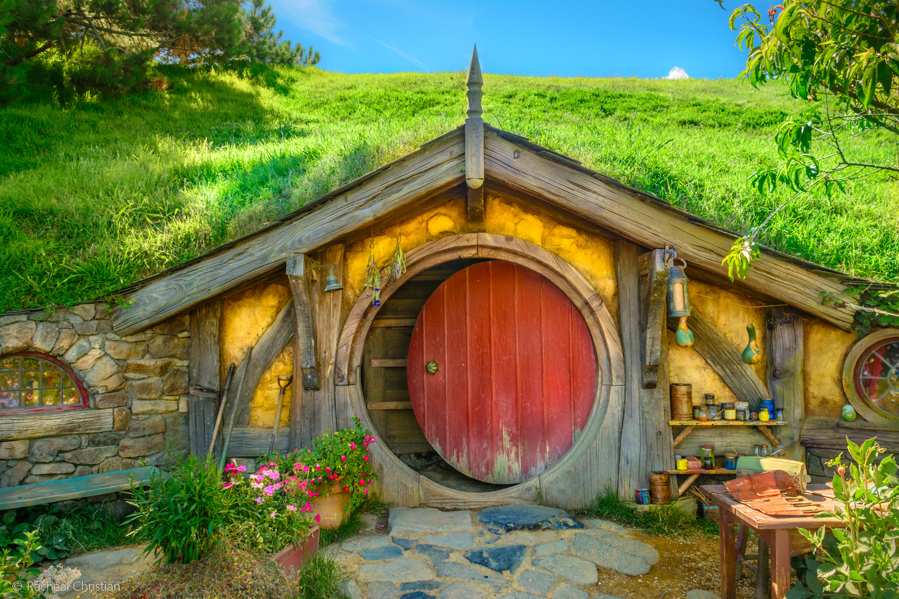 Hobbit House - Hobbiton by Racheal Christian -
