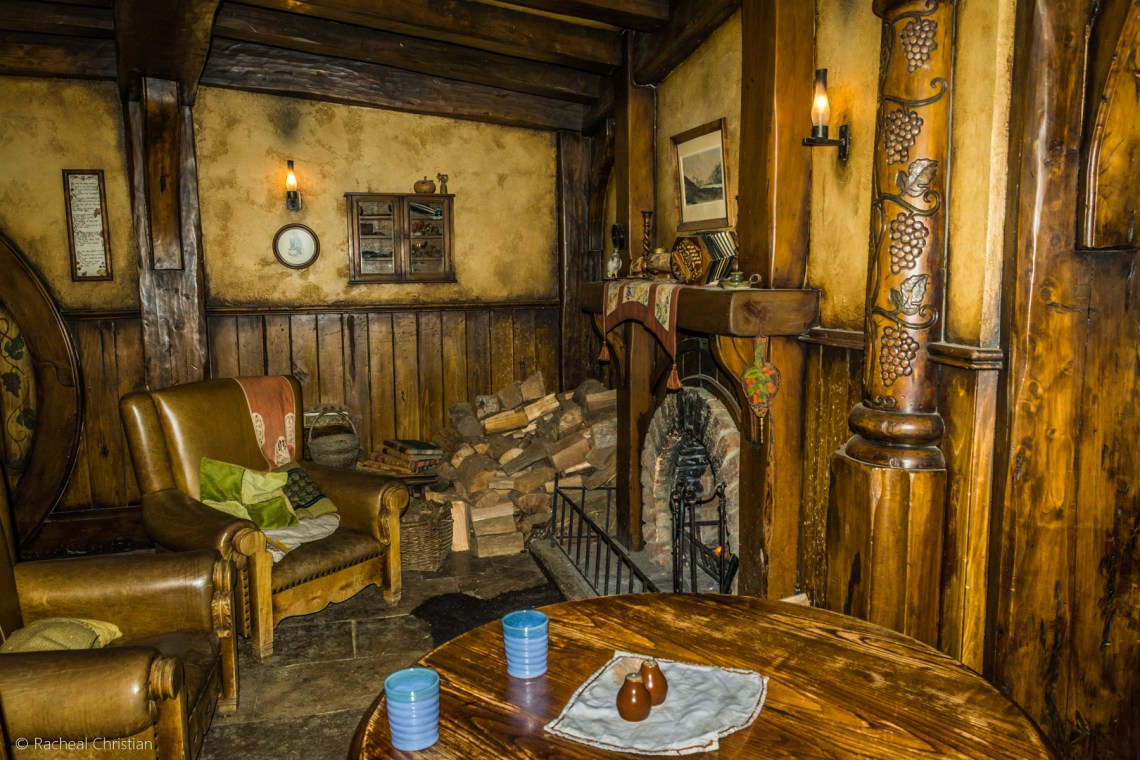 Green Dragon Fireplace - Hobbiton by Racheal Christian -