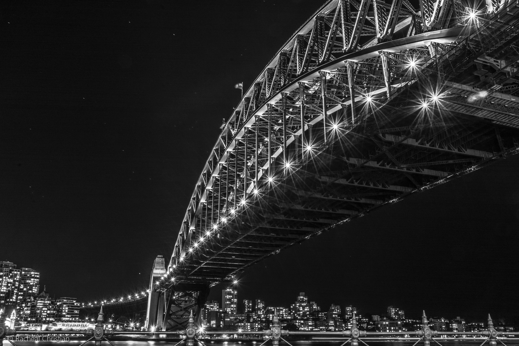 Photographing Sydney   A Night At The Rocks by Racheal Christian - Sydney Harbour Bridge At Night