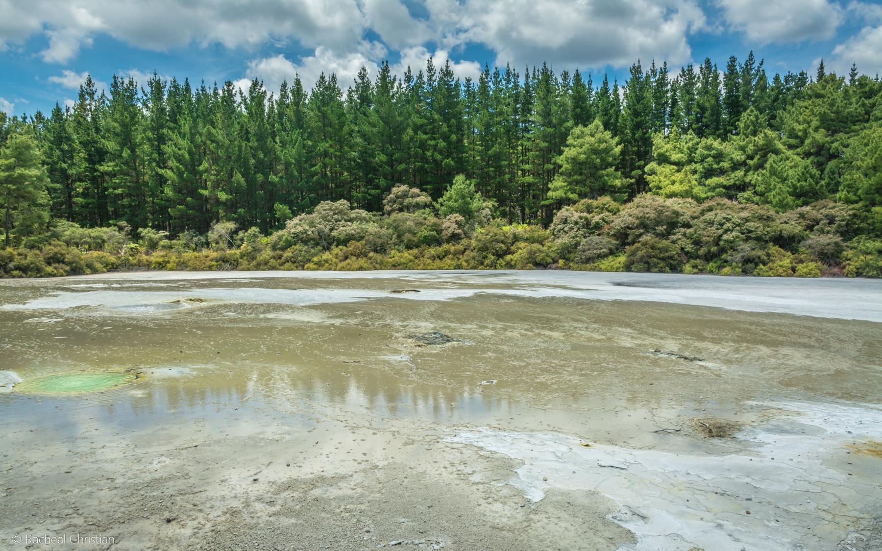 Wai-O-Tapu Thermal Wonderland  Rotorua, New Zealand by Racheal Christian