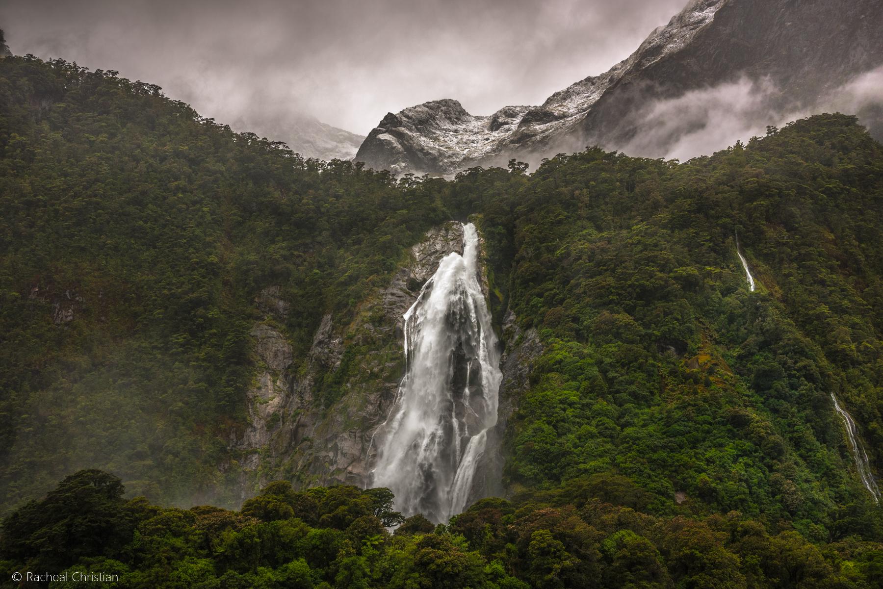 Lady Bowen Falls | Capturing Milford Sounds Tallest Waterfall by Racheal Christian - rachealchristianphotography.com
