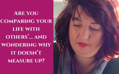 Are you comparing your life with others'… and wondering why it doesn't measure up?