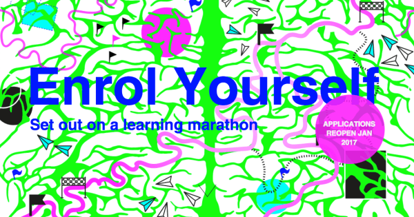 Enrol Yourself - Start a Learning Marathon