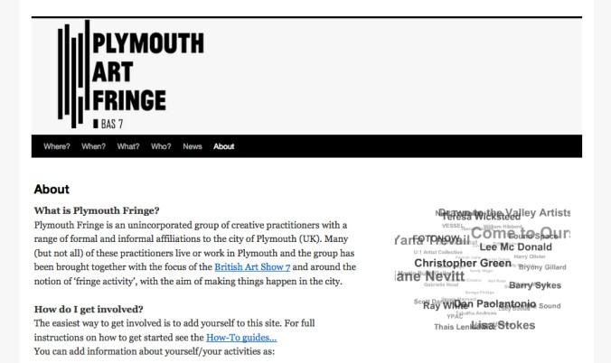 Plymouth Fringe screenshot