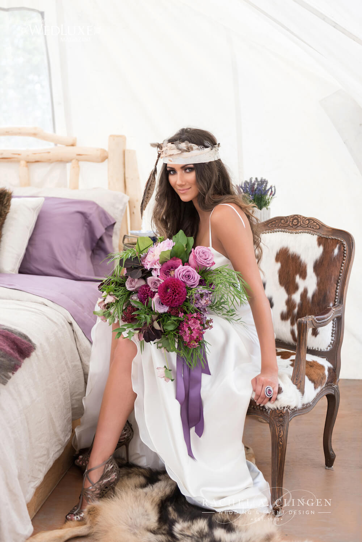 Rustic Glamping Wedding Inspiration Rachel A Clingen