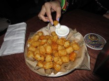 The Cajun tots at McMennamins >