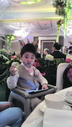 My nephew the ring bearer