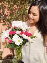 Valentines-Day-2016_Flowers-Bouquet_Me-Selfie