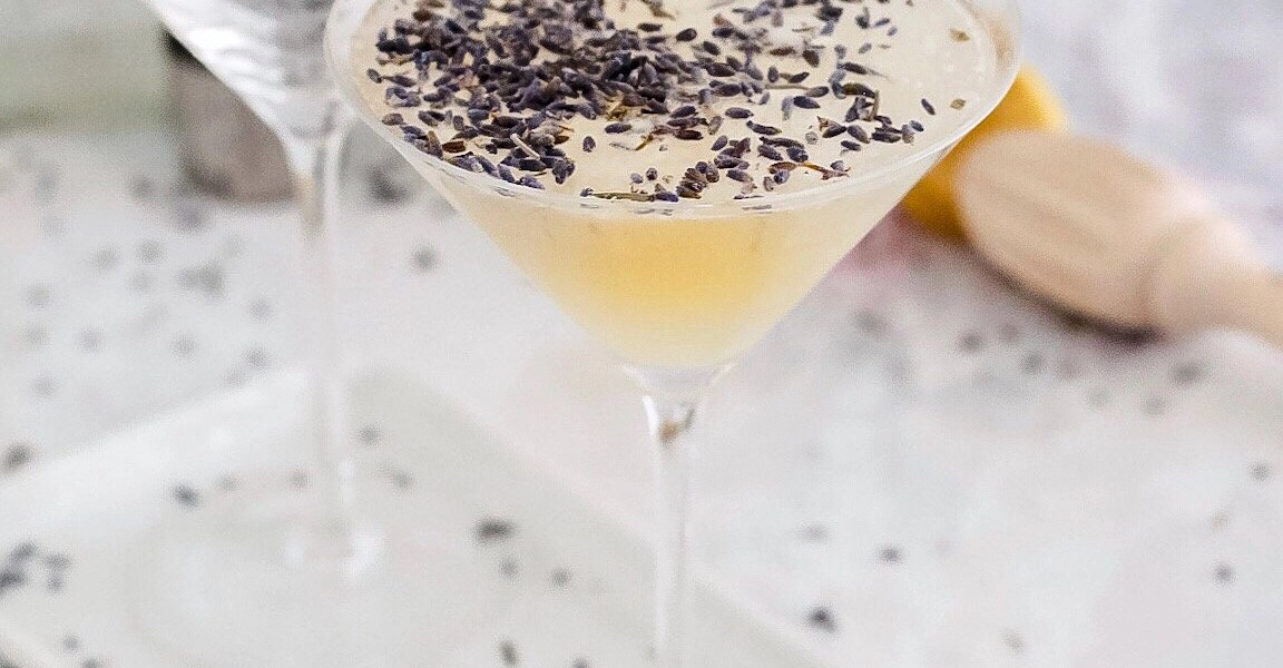 Earl Grey and Lavender Gin Fizz