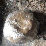 Wrapped galette dough