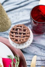 Cherry and chocolate mini pie | Photo by Jessica Ryan Photography