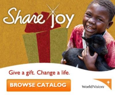 Share Joy – Gift Catalog – For Bloggers