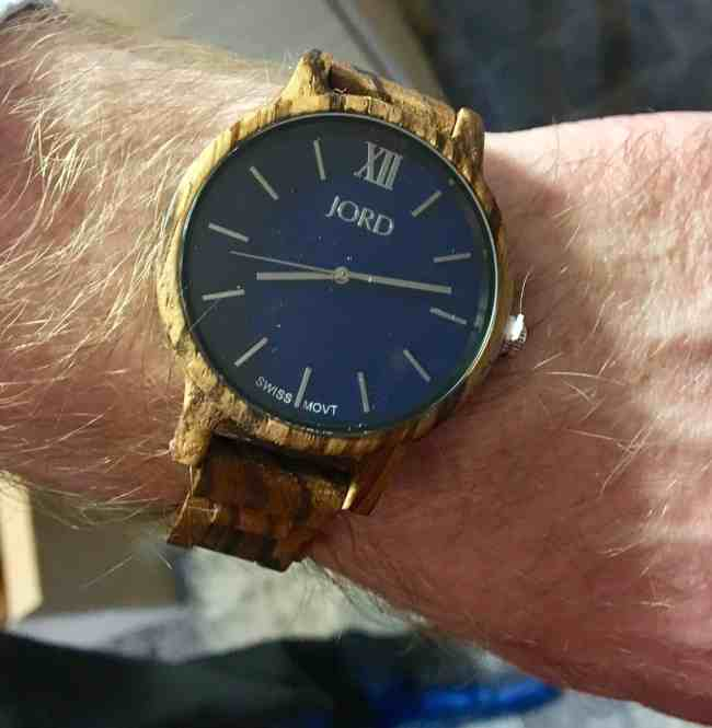 Frankie Series in Navy from JORD Watches