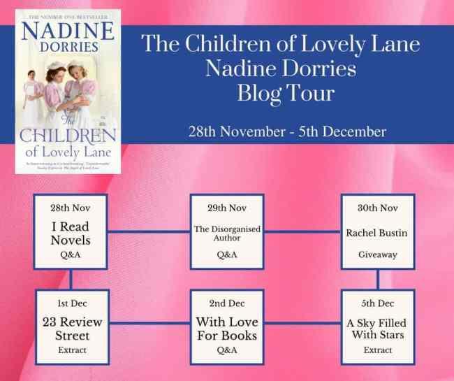 The Children of Lovely Lane Nadine Dorries Blog Tour