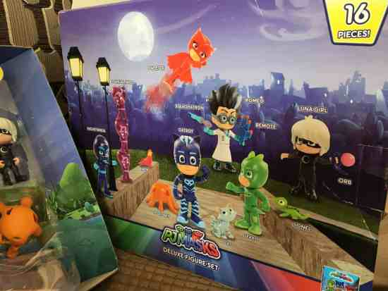 PJ Masks Deluxe Figure Set