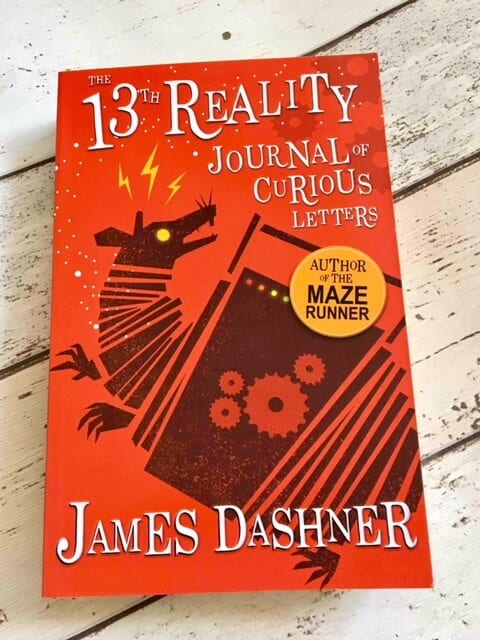 The 13th Reality Journal of curious letters by james dashner