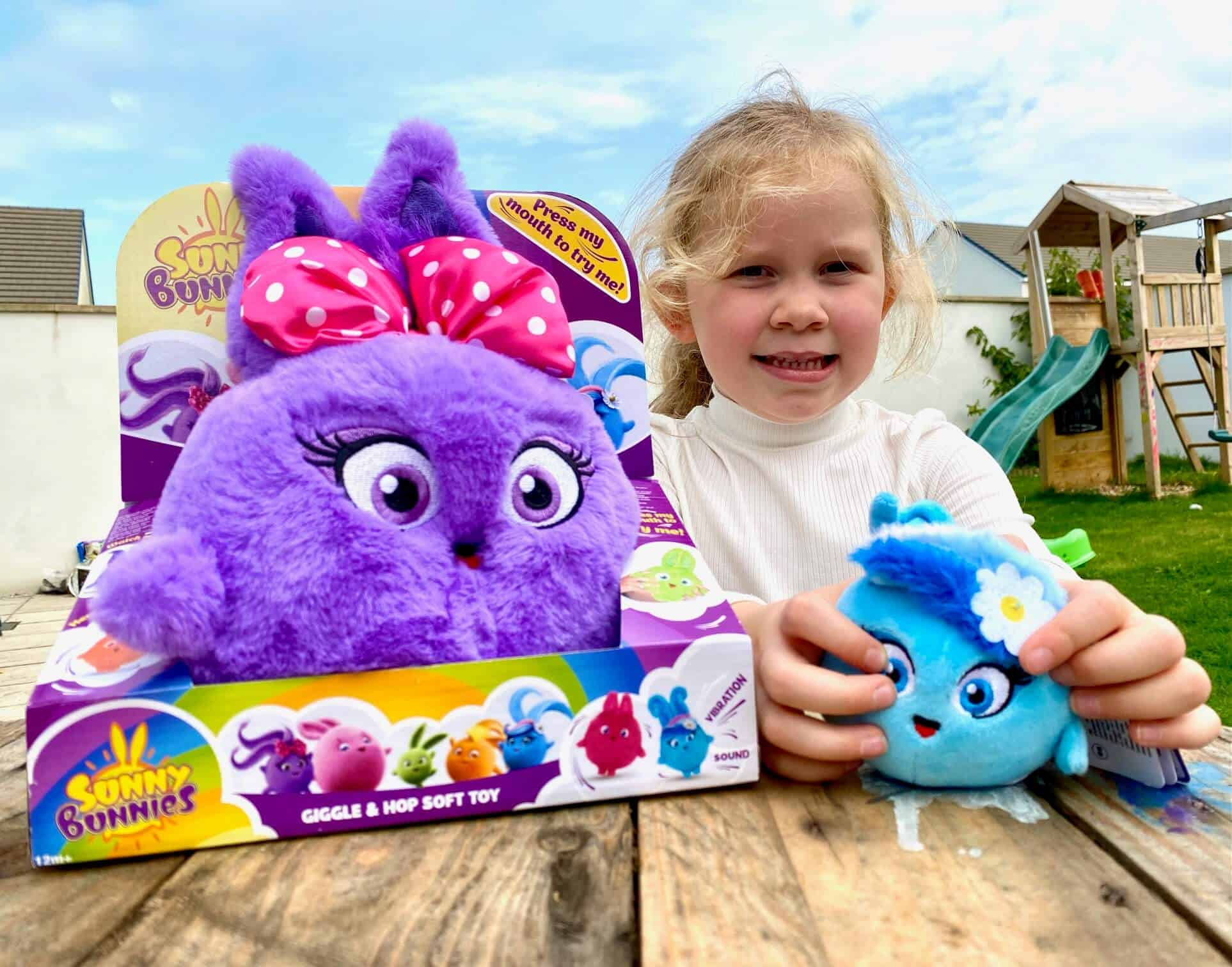 Sunny Bunnies Giggle & Hop Soft Toy Review -Iris