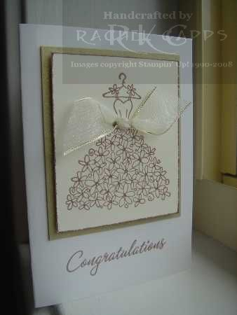 Wedding Congratulations gift tag size