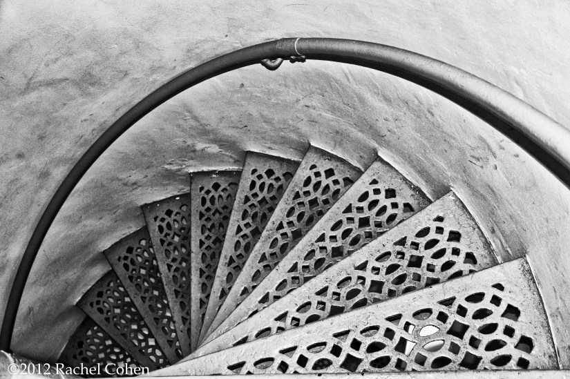 The beauty of old spiral stairs!