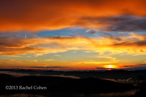 Blue Ridge Sunset