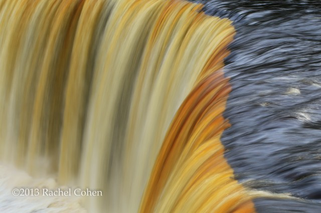 """Flow of Golden Ribbons"""