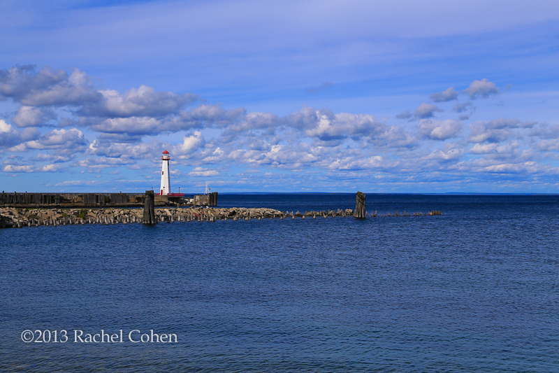 Wawatam Lighthouse in St. Ignace, Michigan.